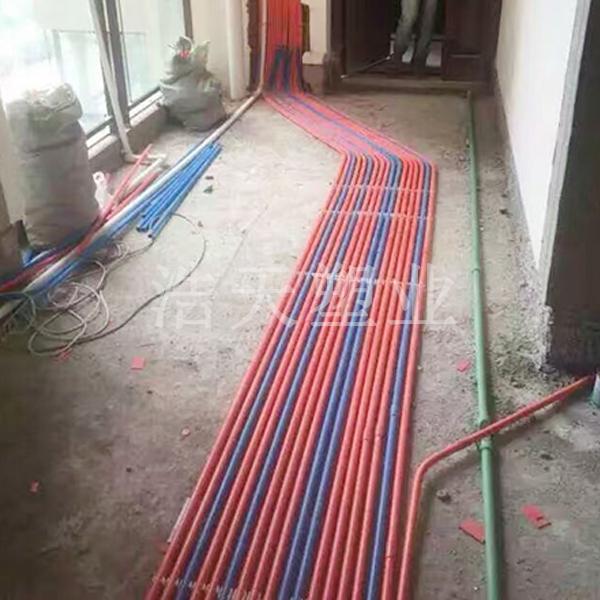 PVC-U红蓝线管